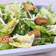 Diner Menu Ceasar Salad